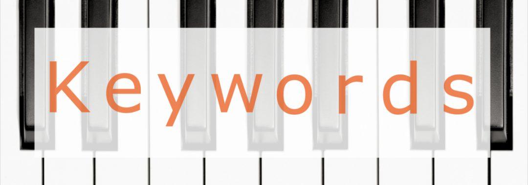 keywords seo google