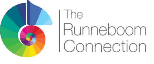 The Runneboom Connection logo